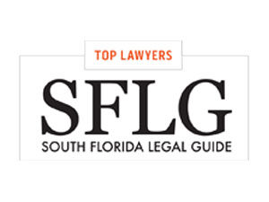 The South Florida Legal Guide publishes a listings of Top Lawyers and Top Law Firms.